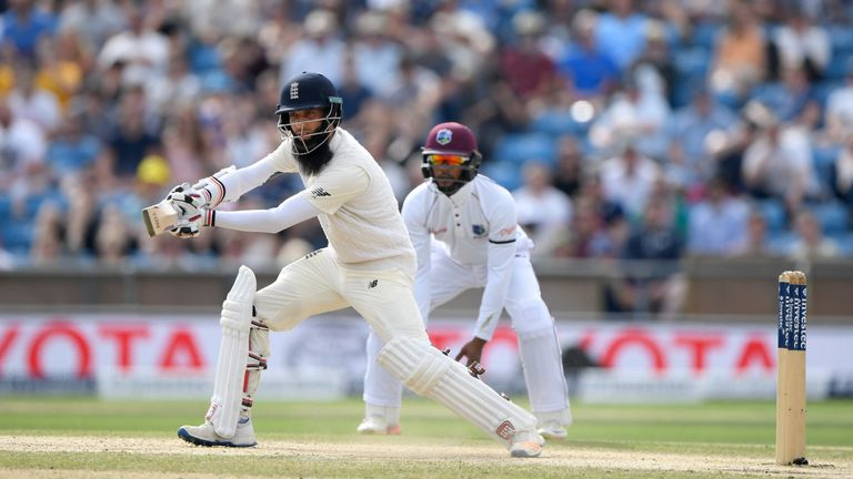 Moeen Ali was in devastating form after tea, according to Michael Atherton