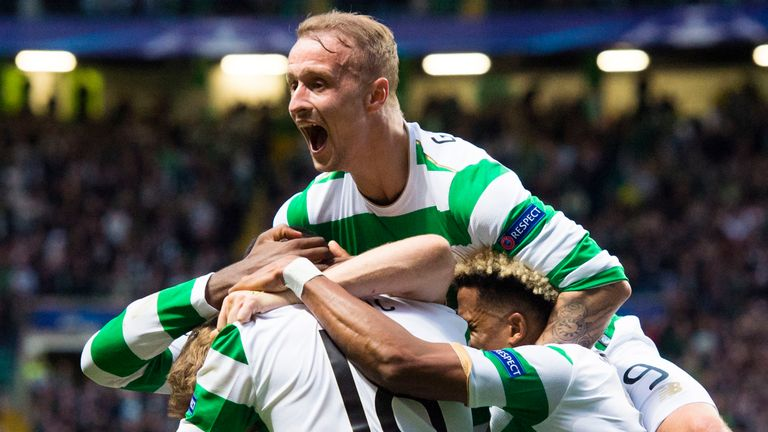 Celtic go to Astana with a 5-0 lead from their first leg