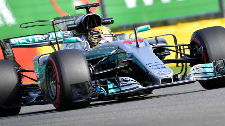 Hamilton edges Vettel in Belgium