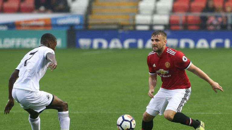 Luke Shaw has been building his match fitness with Manchester United's U23s but Matt Le Tissier feels he may need a fresh start