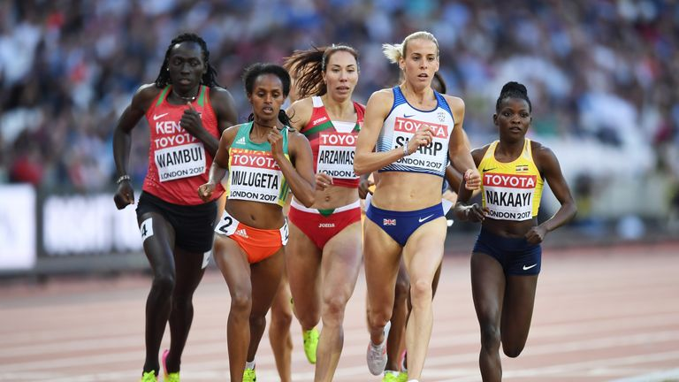 Lynsey Sharp is through to the 800m semi-finals