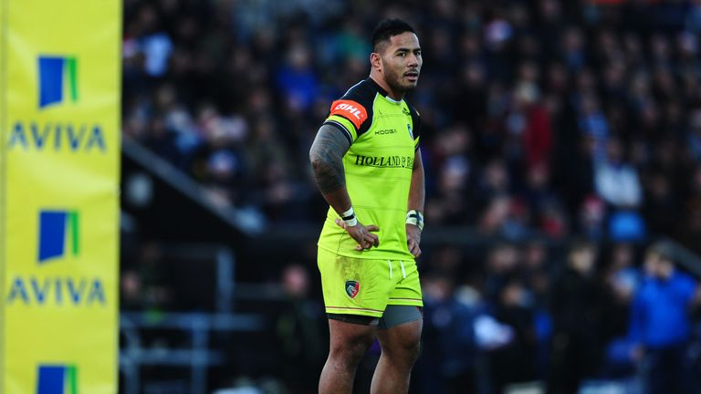 Tuilagi was injured against Bath