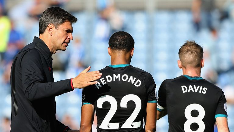 Saints forward Nathan Redmond has scored four goals against Watford