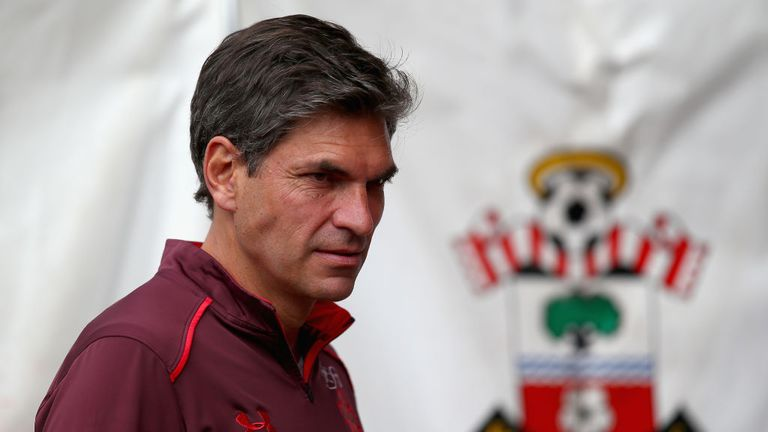 Mauricio Pellegrino is unconcerned despite his Saints firing blanks at St Mary's