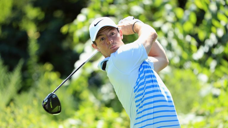 Rory McIlroy carded a third round one-under 69