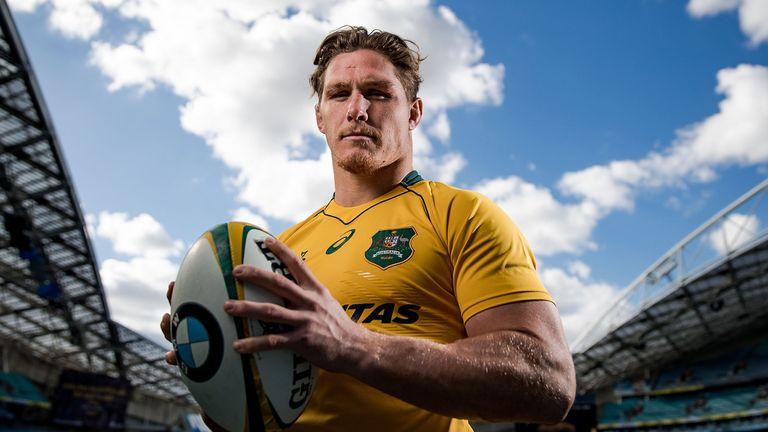 Michael Hooper has replaced Stephen Moore as captain of Australia