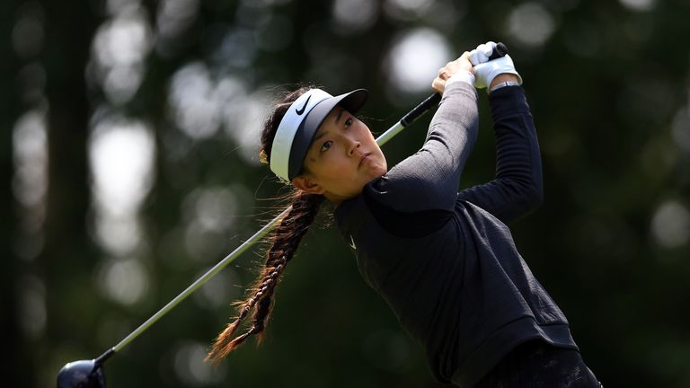 Michelle Wie withdrew prior to the final round
