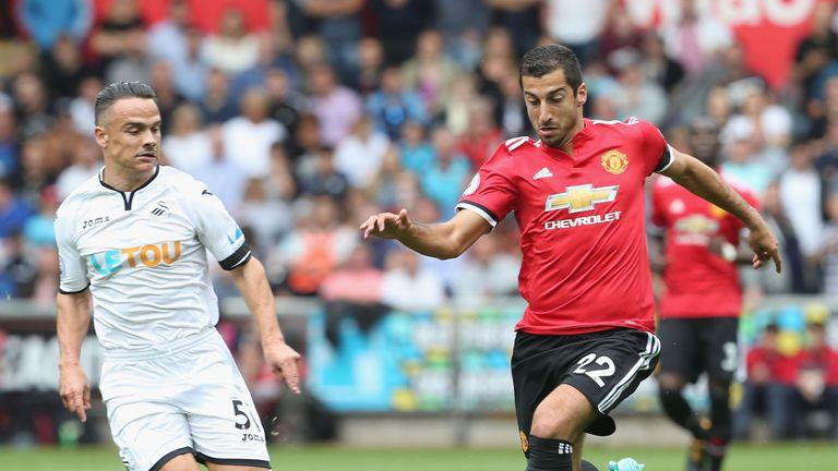 Henrikh Mkhitaryan unpicked Swansea's defence twice in quick succession