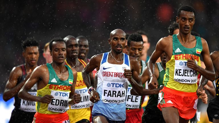 The 5,000m final takes place on Saturday