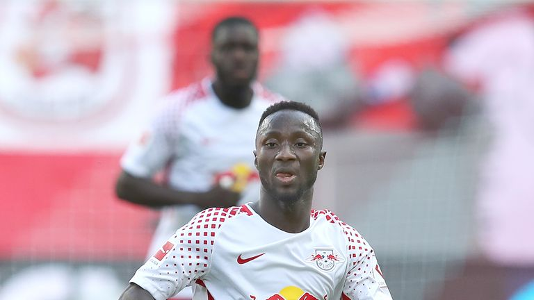 Naby Keita has been hit with a 'six-figure' fine for allegedly using a forged driving licence