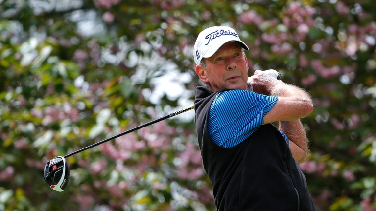 Larry Nelson still plays on the Champions Tour