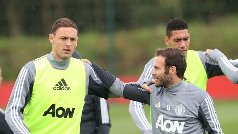 Nemanja Matic completed his £40m move to Manchester United on Monday