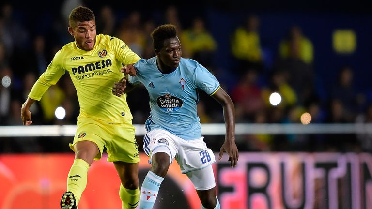 Celta Vigo midfielder Pape Diop is in talks over a move to Tottenham