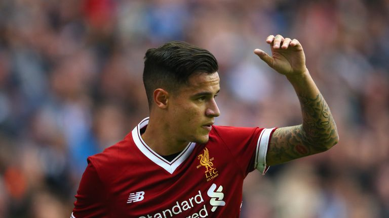 Barcelona are prepared to pay Liverpool £120m for Philippe Coutinho
