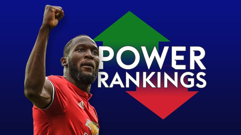 Premier League top scorer Romelu Lukaku features in the team