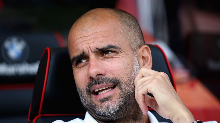 Manchester Pep Guardiola said he had not problem with Aguero going to Amsterdam on his day off