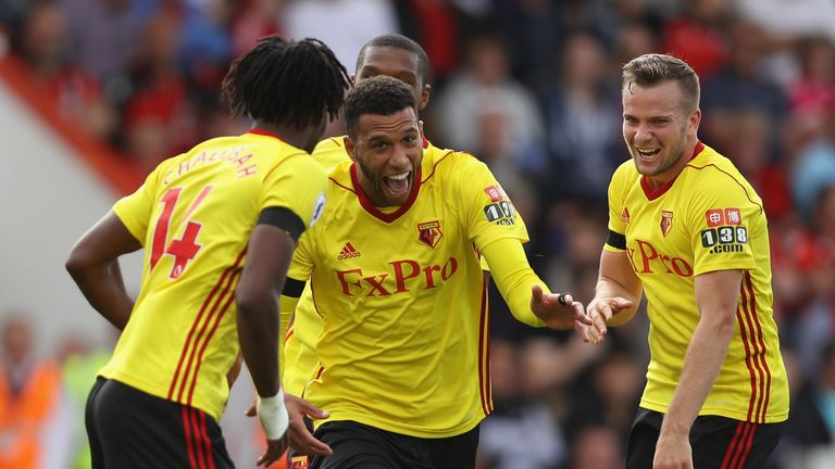 Marco Silva's Watford sit fourth after their 2-1 win over Arsenal