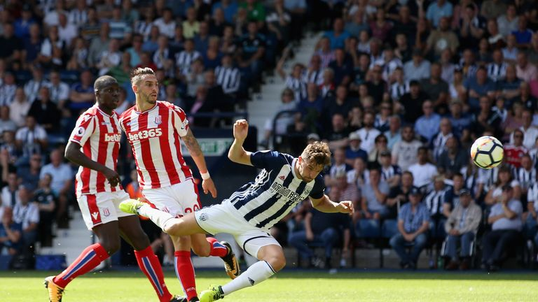 Jay Rodriguez scored the opener for West Brom