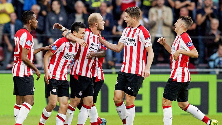 PSV Eindhoven hit NAC Breda for four.