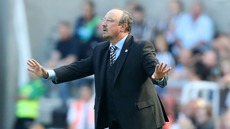 Benitez returns to the Newcastle dugout on Saturday