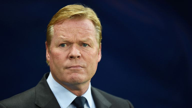 Ronald Koeman';s side drew at Manchester City in their last league match