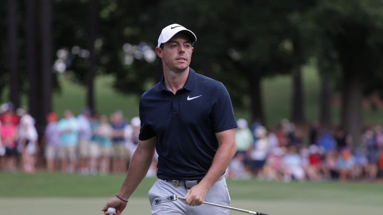 McIlroy plays alongside Sung Kang and Keegan Bradley for the first two rounds this week in New York