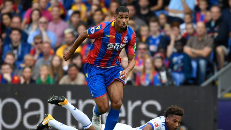 Ruben Loftus-Cheek is on a season-loan at Crystal Palace from Chelsea