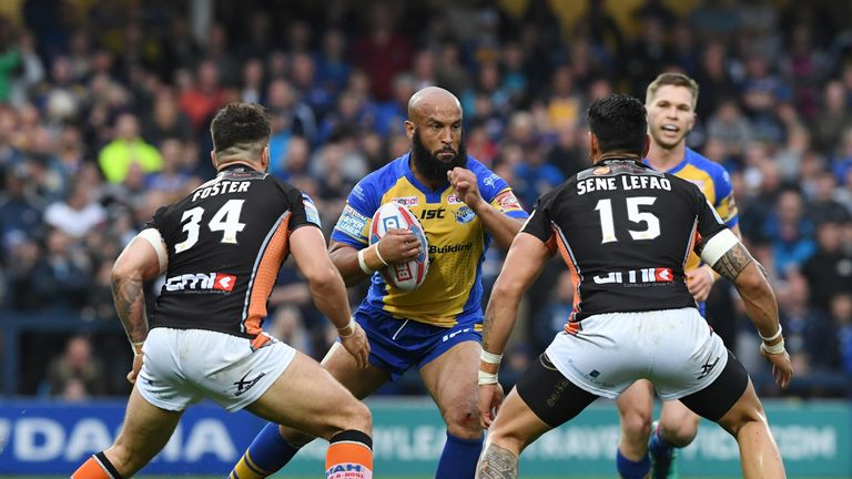 Castleford and Leeds are in pole position heading into the Super League Super 8s