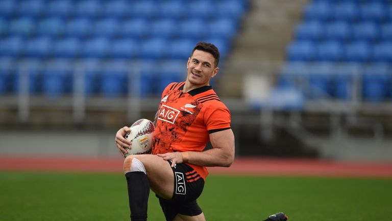 Sonny Bill Williams is hoping to play some part in New Zealand's Rugby Championship opener against Australia