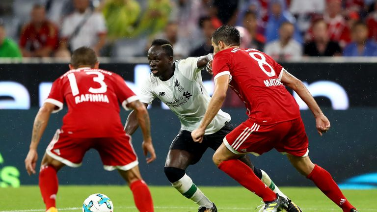 Sadio Mane's Liverpool - provided they get through a play-off - will have European commitments this season