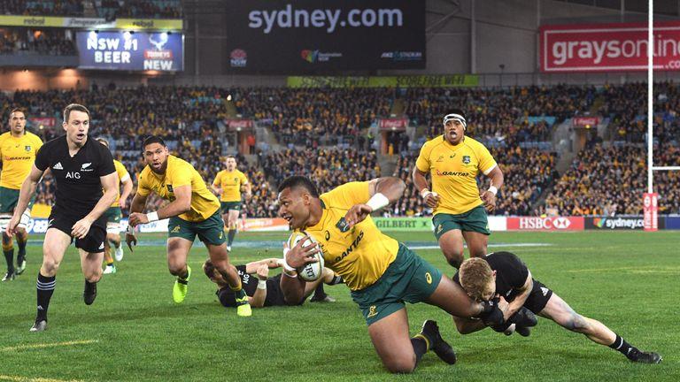 Samu Kerevi has been dropped for Australia's game against New Zealand in Dunedin