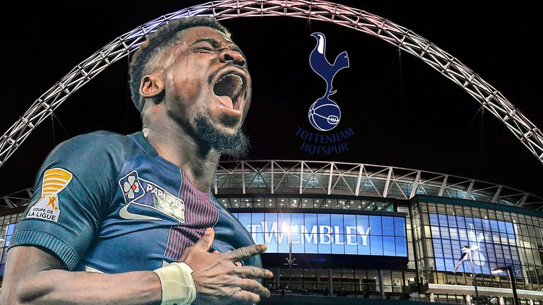 Tottenham are nearing a deal for Paris Saint-Germain's Serge Aurier
