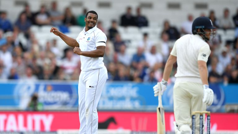 Shannon Gabriel added an extra dimension to the Windies attack