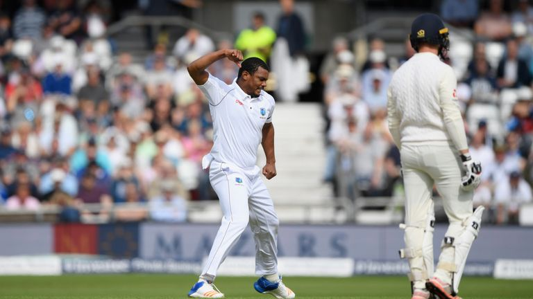 Gabriel ended with figures of 4-51 as England were bowled out for 258