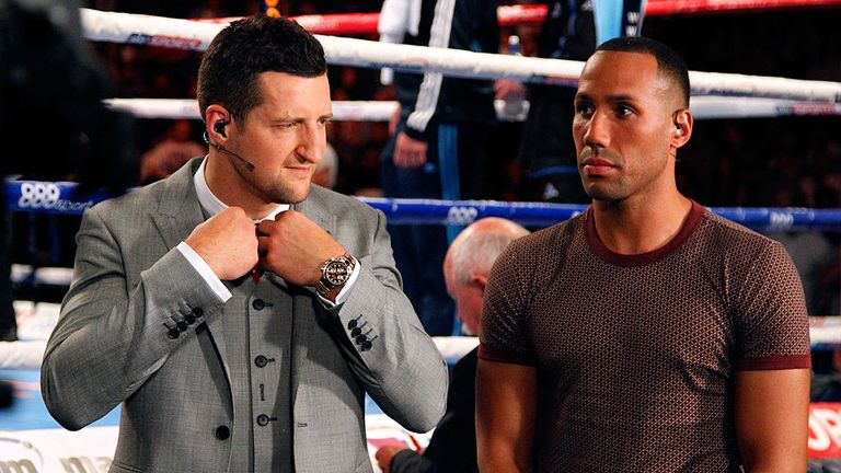 Froch says some of the world's best have come unstuck against Mayweather