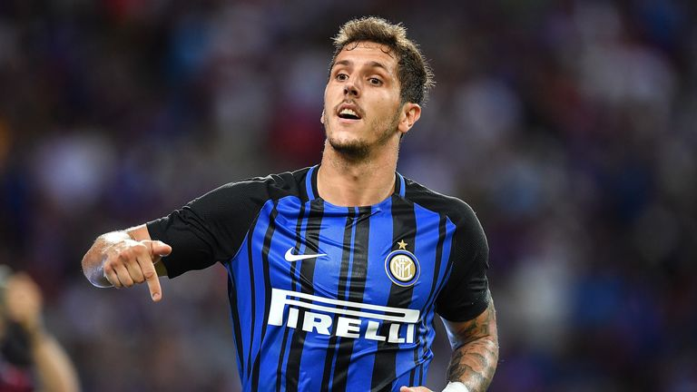 Stevan Jovetic has been told he can leave Inter Milan, with Newcastle and Brighton keen