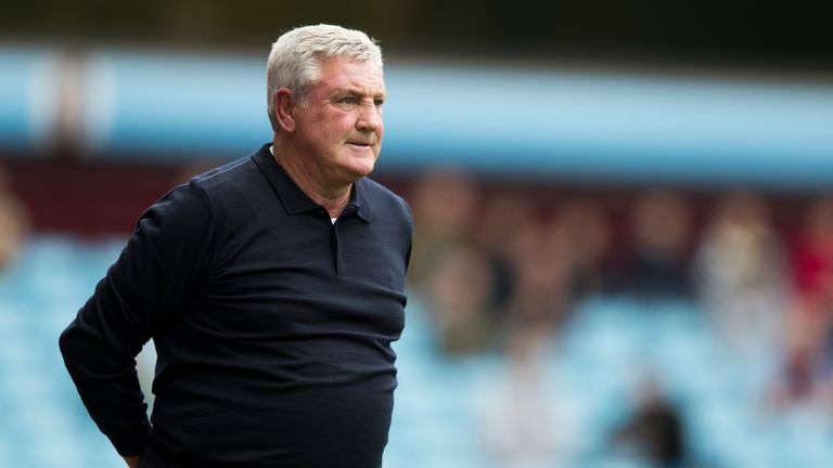 Steve Bruce's Aston Villa suffered a 3-0 defeat at Cardiff City