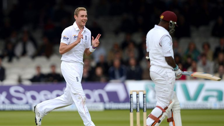 Stuart Broad took 11 wickets in the first Test