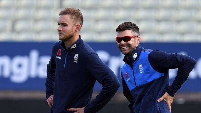 Broad and Anderson each have their own training methods to stay match fit