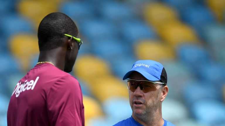 West Indies coach Stuart Law is targeting a response to opening Test defeat