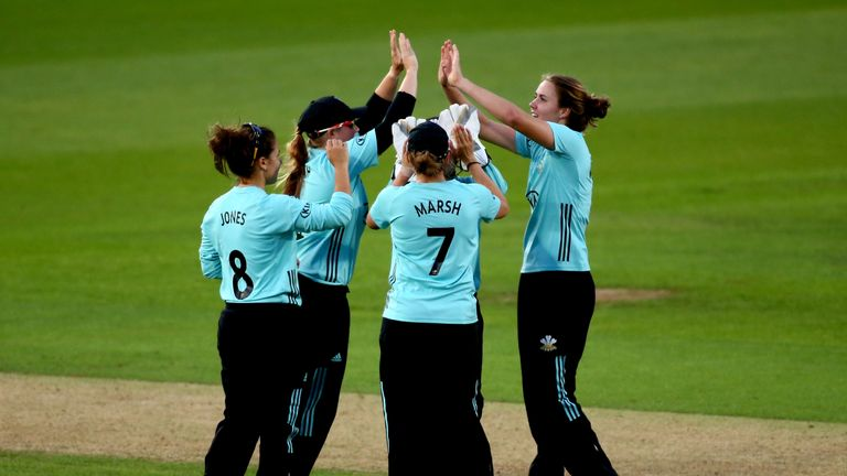 Surrey Stars are into Kia Super League Finals Day for the first time