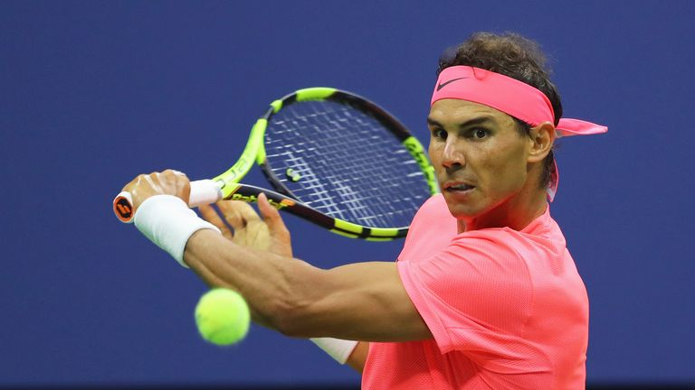 Leconte has been impressed by Rafael Nadal's volleying skills at the net