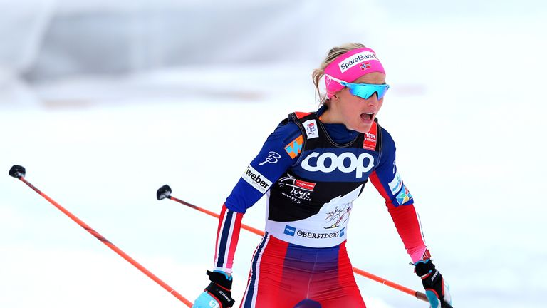 Cross-country skiing star Therese Johaug banned from '18 Games