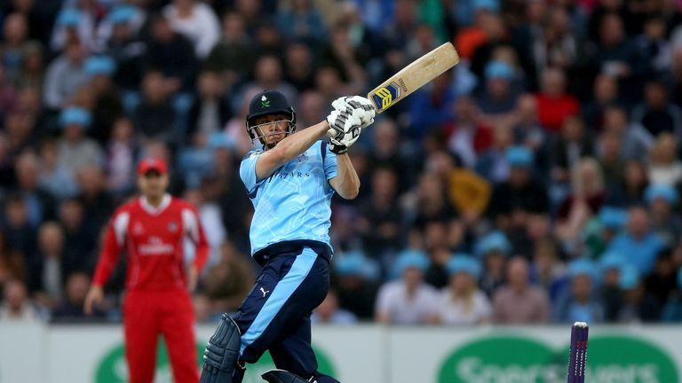 Tom Kohler-Cadmore smeared 75 off 40 deliveries for Yorkshire  in their defeat