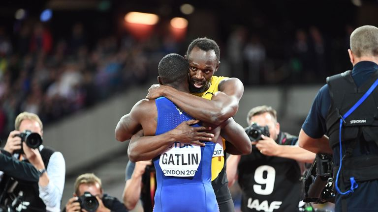 Usain Bolt was magnanimous in his defeat by Justin Gatlin