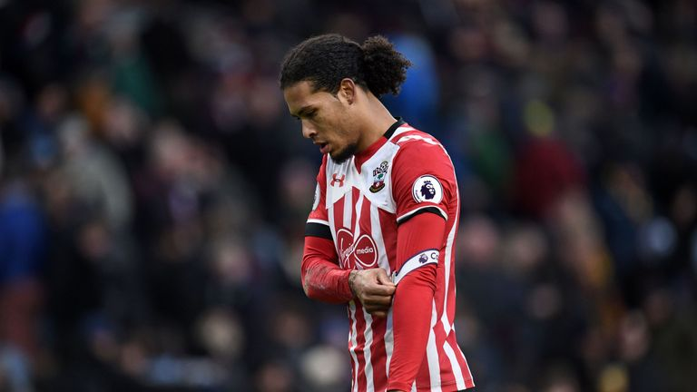Virgil van Dijk is also under transfer scrutiny