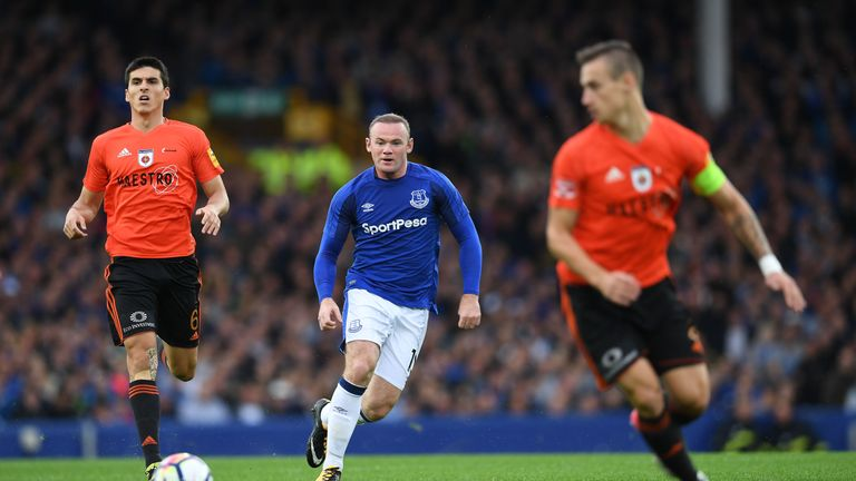 Wayne Rooney is set to make his first Premier League start for Everton in 13 years