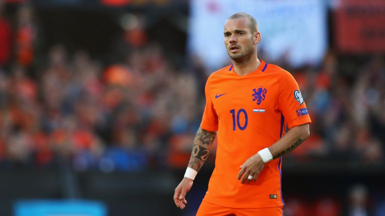 Wesley Sneijder has retired from international duty with the Netherlands