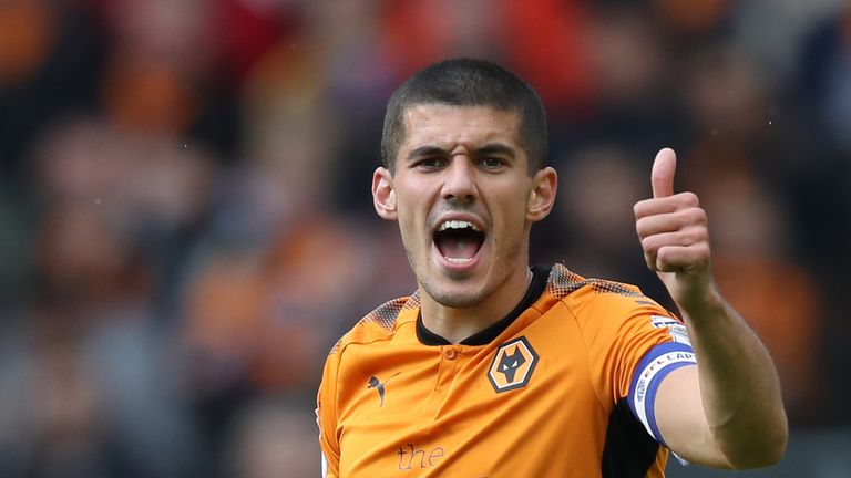 Conor Coady is enjoying life at Wolves playing in a new position under Nuno