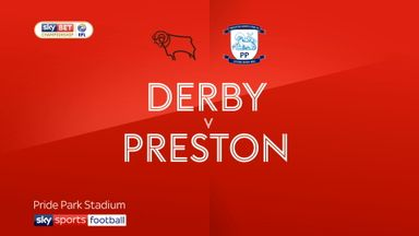 Derby 1-0 Preston North End